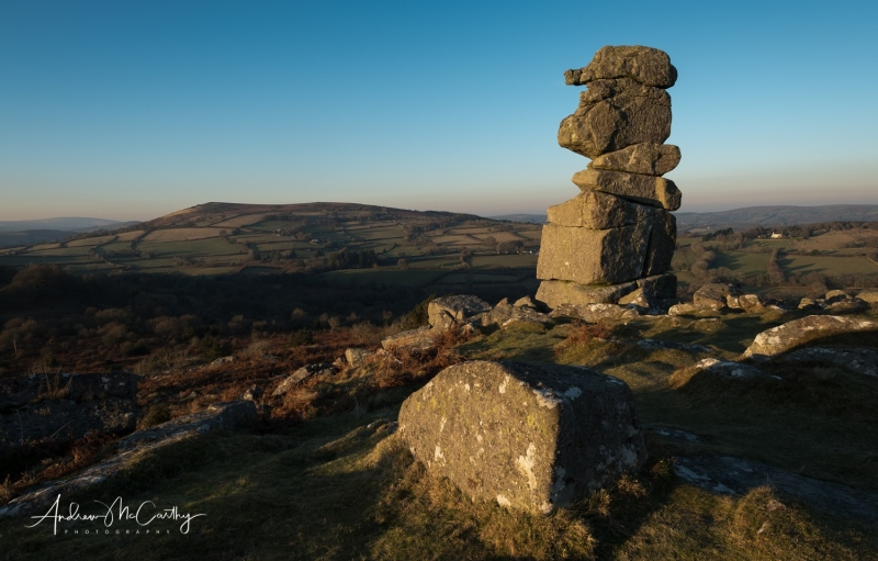 It was fantastic to be out in the  stunning evening light Dartmoor on Friday.  Bowermans Nose Fuji XT2.